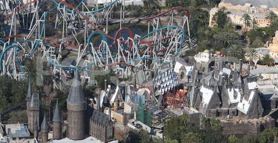 Photos of The Wizarding World of Harry Potter Theme Park to Open Spring 2010 in Orlando Florida