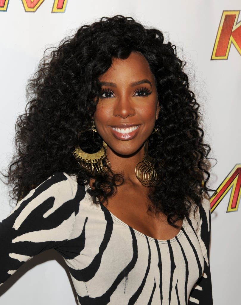 Kelly Rowland's Voluminous Curls