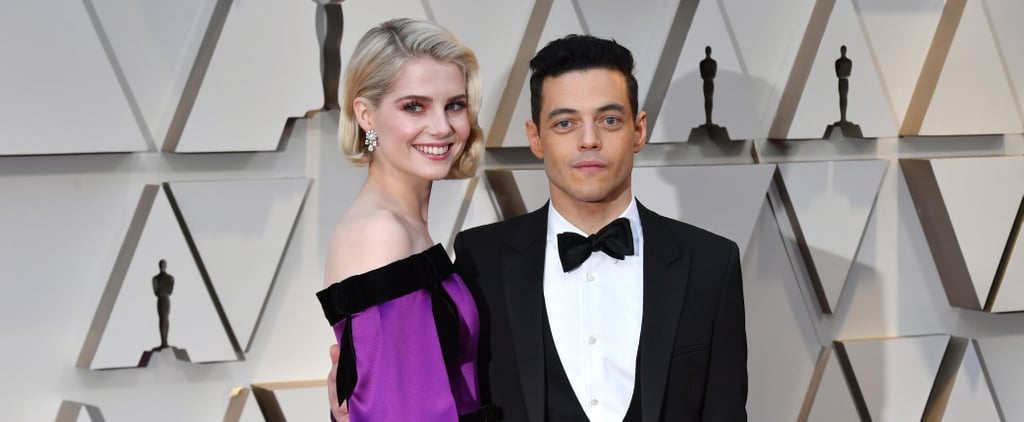 Lucy Boynton and Rami Malek Pictures Together