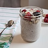 Basic Coconut Chia Pudding With Berries