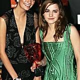 Mischa Barton and Emma Watson, 2005