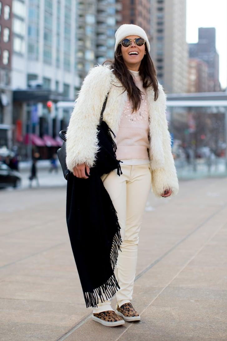 Nyfw Street Style Day 1 Best Street Style At New York Fashion Week Fall 2014 Popsugar