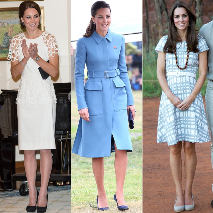 Kate Middleton Outfits On Australia And New Zealand Tour Popsugar Fashion