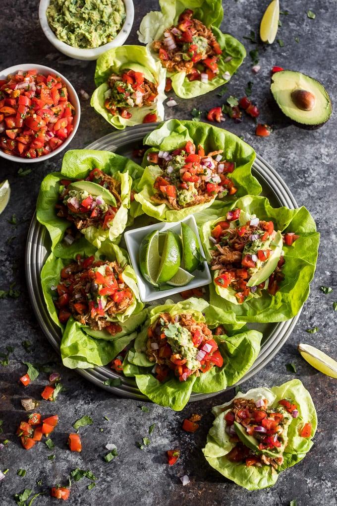 Chicken Tinga Tacos Mediterranean Diet Instant Pot Recipes Popsugar Fitness Photo 5