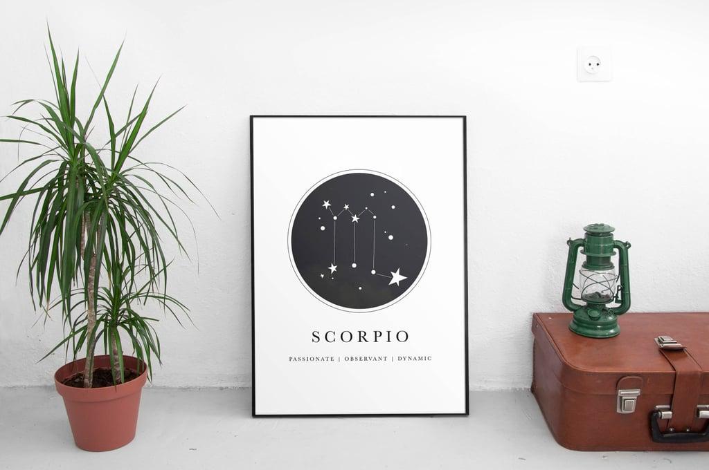 Zodiac Scorpio Print