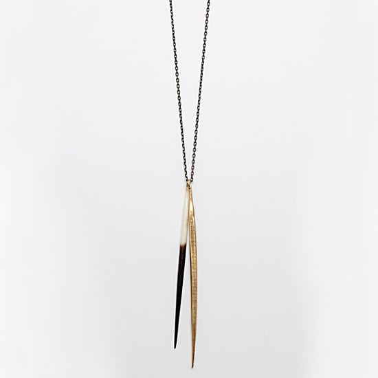 K/LLER Collection Two Quills Necklace, $127