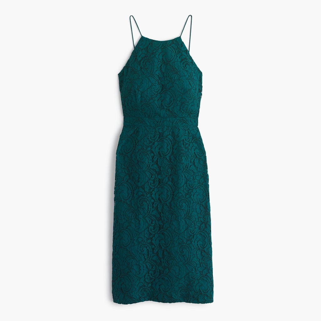 J.Crew Lydia Dress in Leavers Lace ($228)