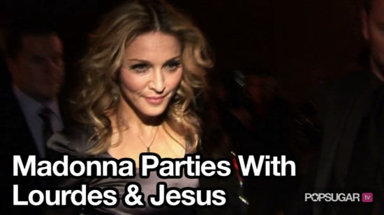 Video of Madonna Partying For Her Birthday