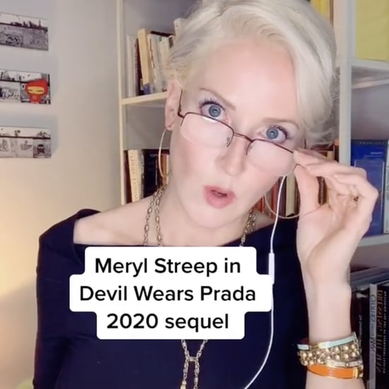 Watch This Miranda Priestly Face Mask PSA on TikTok