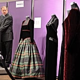 Diana wore the Catherine Walker tartan dress at a ball in 1991.