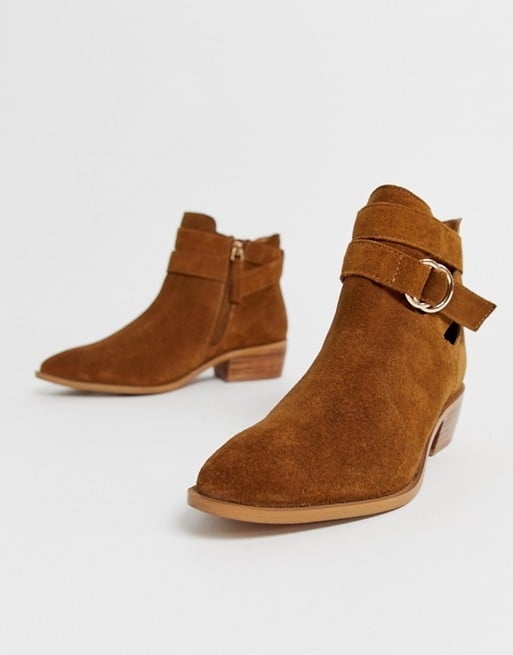 Simply Be wide fit Dina Ankle Boots