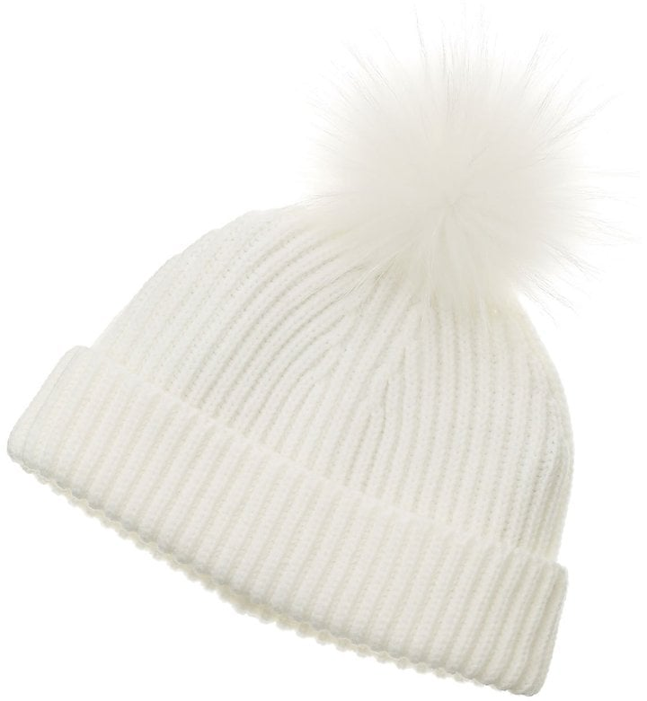 This Marc Jacobs acrylic pom pom hat ($39) is an irresistible Winter necessity.