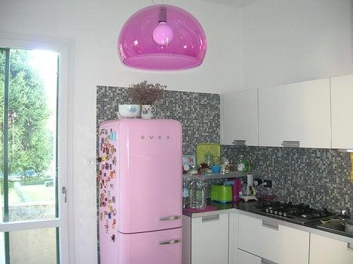 Midday Muse: Pretty Pink Fridge