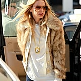 Rachel Zoe caught some rays on a day out in LA.