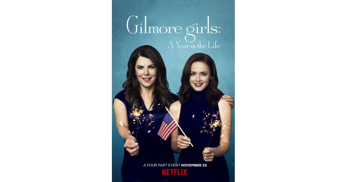 Celebrità di Popsugar serie di poster di Gilmore Girls Netflix-6599