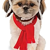 Aviator Hat and Scarf Set Pet Costume