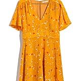 Madewell Belladonna Silk Dress