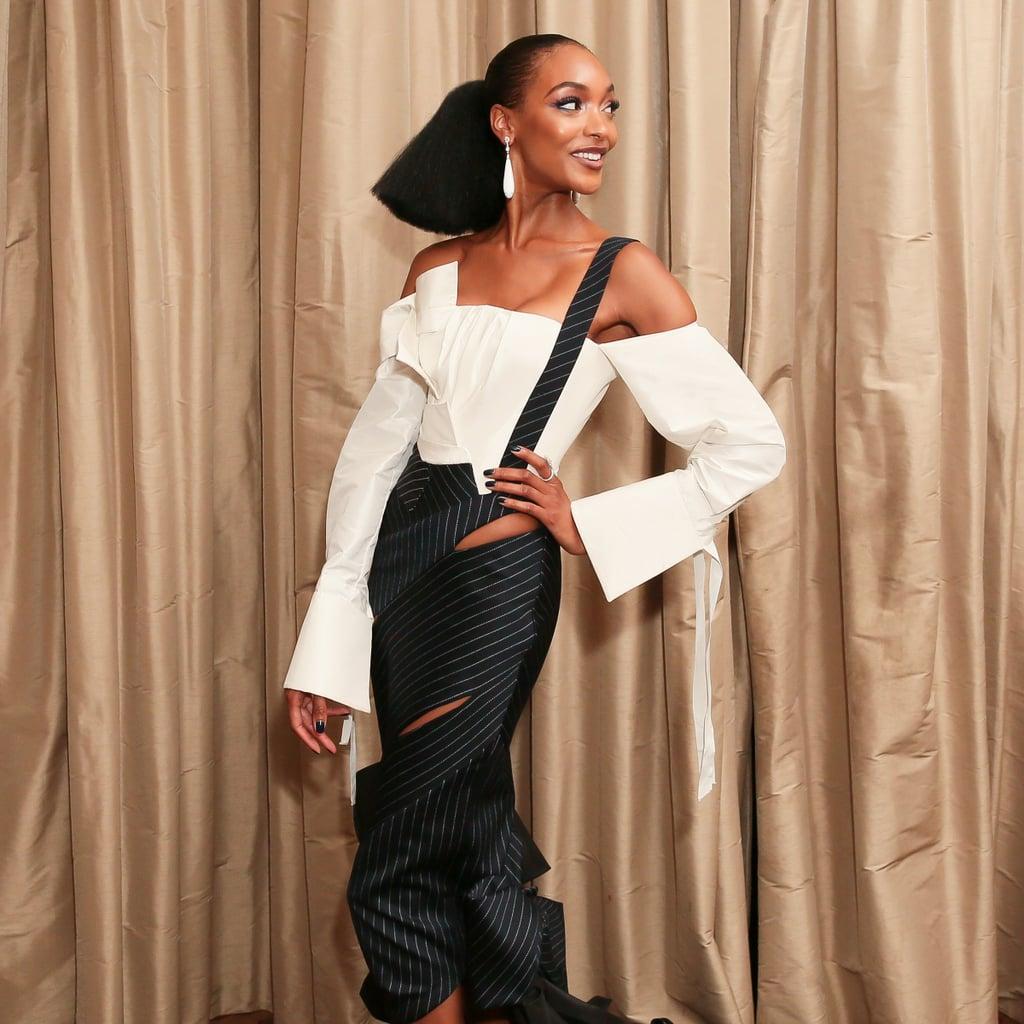Jourdan Dunn H&M Dress at Met Gala 2017