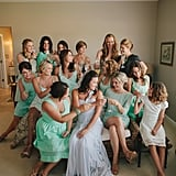 Bubbly With Bridesmaids