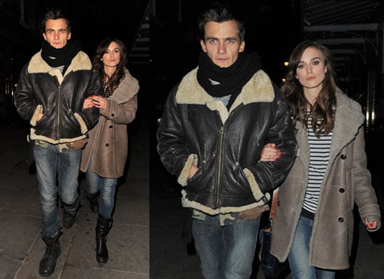 Photos of Keira Knightley and Rupert Friend Together in London After Rumours of Relationship Problems