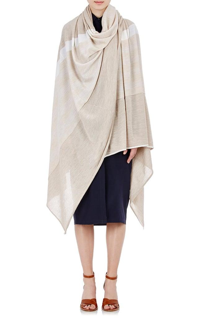 Gabriela Hearst Women's Striped Blanket Scarf-IVORY ($1,095)