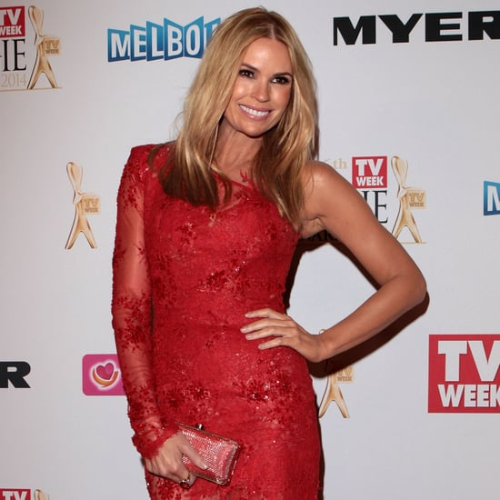 Sonia Kruger at the 2014 Logie Awards Wearing a Red Dress