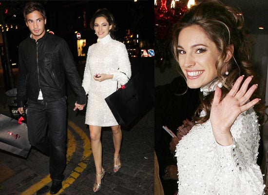 24/09/08 Kelly Brook And Danny Cipriani