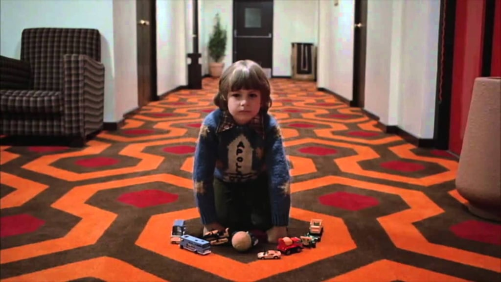 It's very similar to The Shining!