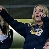 Carrie Underwood Cheers On Her Man and His New Nashville Team