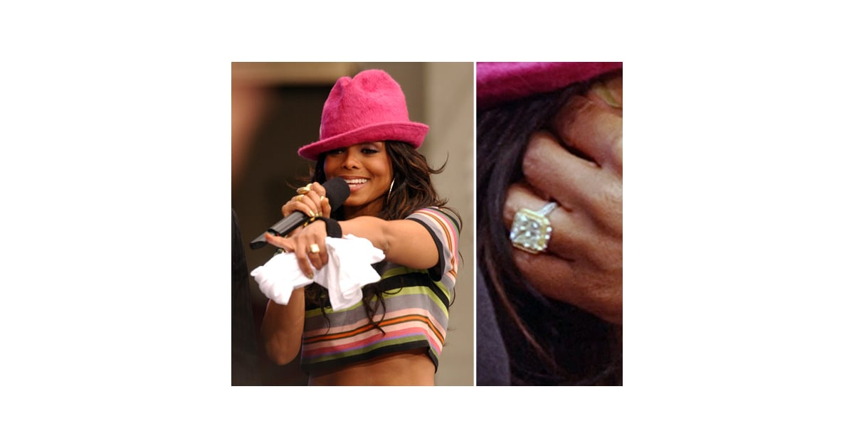 Janet Jackson The Very Best Celebrity Engagement Rings