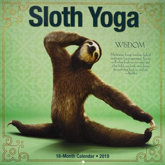 Sloth Yoga Calendar