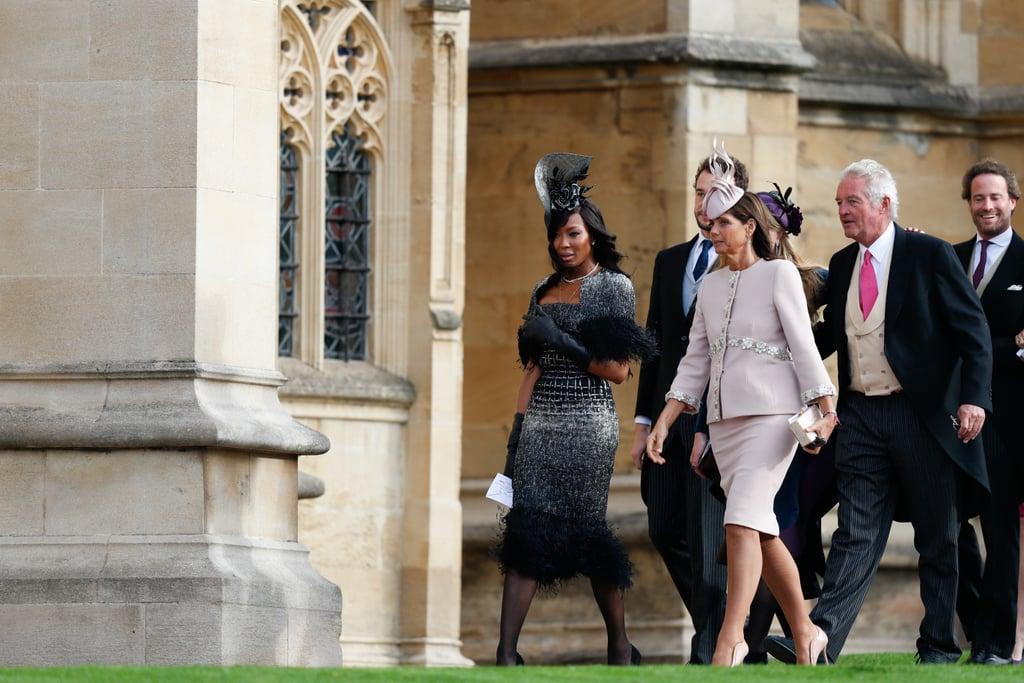 Naomi Campbell Dress at Princess Eugenie's Wedding 2018