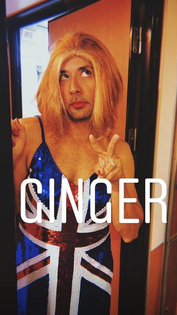 Howie Dorough's Ginger Spice Outfit Was Oh So Perfect