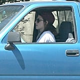 Rob Leaves Town as Kristen Takes Her Truck For a Spin