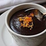 Warm, Flourless Chocolate Cake