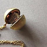 Vintage Locket With Note