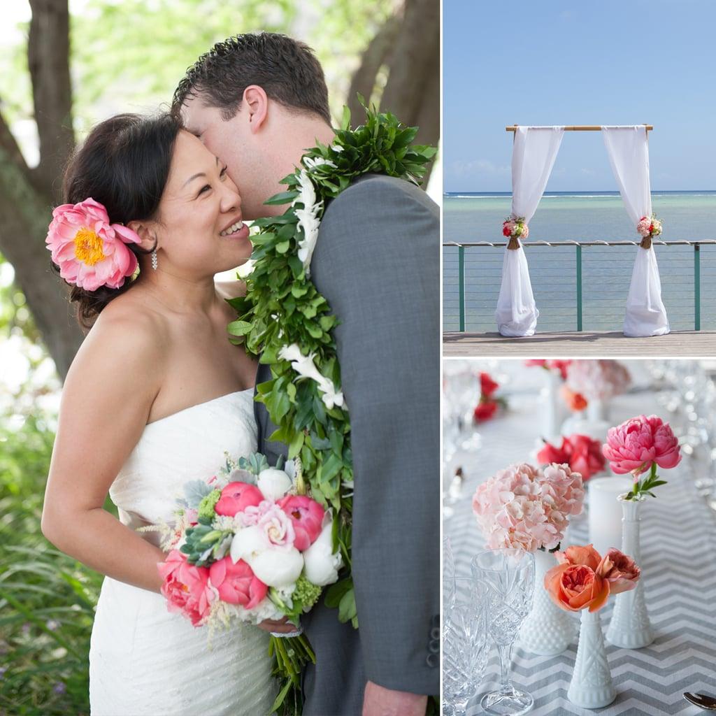 Phyllis and Tony's Modern Hawaiian Wedding