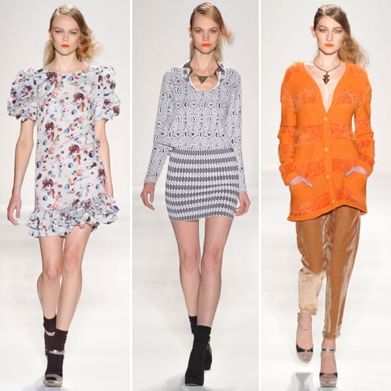 Review and Pictures of Whitney Eve 2012 Fall New York Fashion Week Runway Show