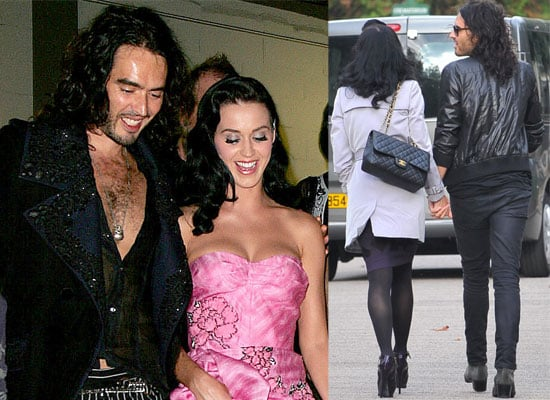 Loved Up Russell Brand and Katy Perry in Paris