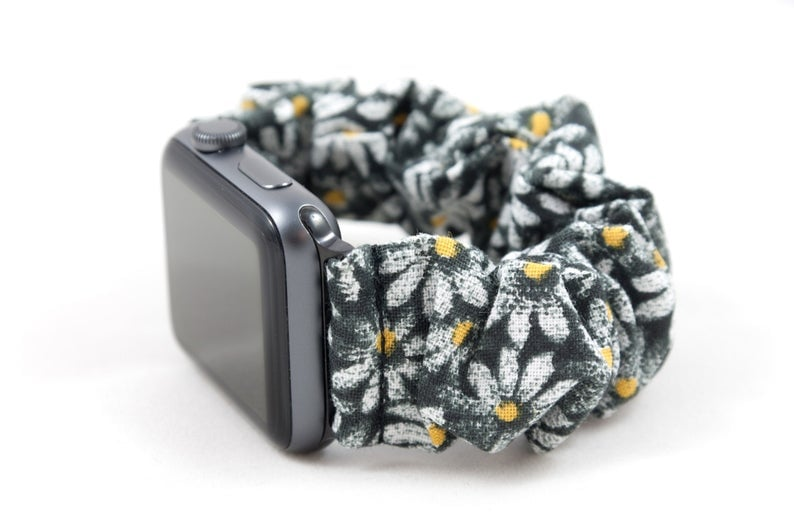 Daisy Scrunchie Watch Band