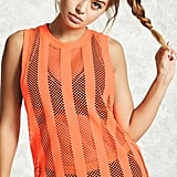 Active Stripe Mesh Tank Top