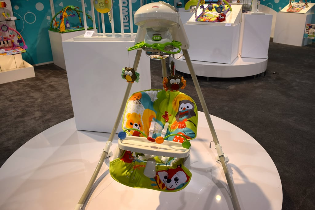 Fisher Price Woodland Friends Cradle and Swing