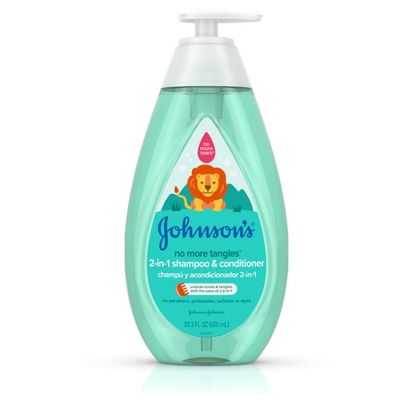 Johnson's No More Tangles 2-in-1 Shampoo & Conditioner