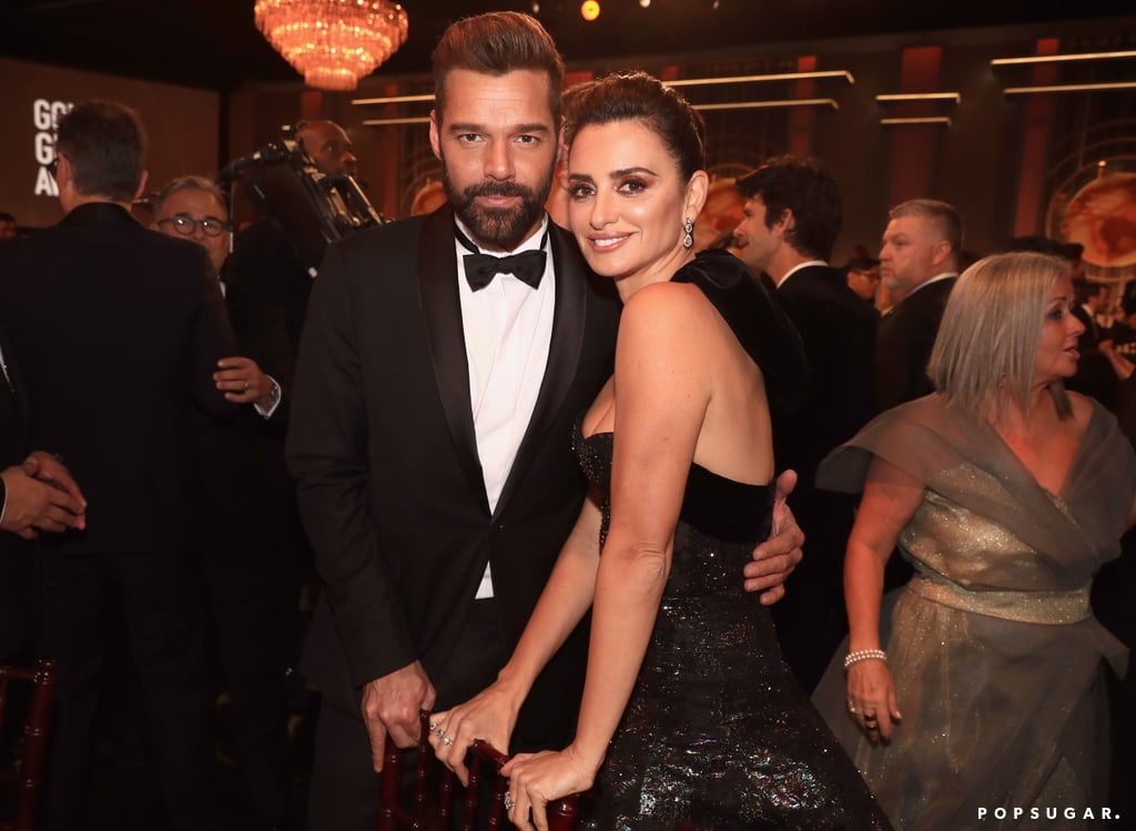 Pictured: Ricky Martin and Penlope Cruz