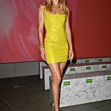 Doutzen Kroes at the Versace Milan Fashion Week Show