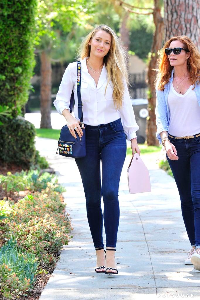 Blake Lively Old Navy Jeans