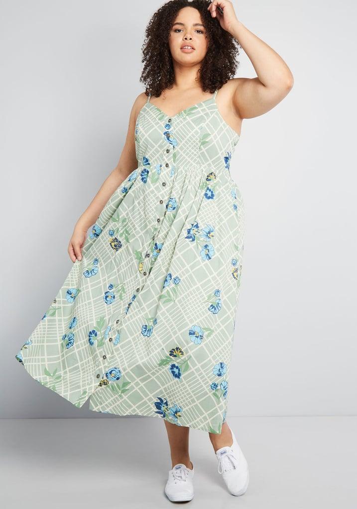 05e577bcc6c Quite Clearly Charismatic Midi Dress