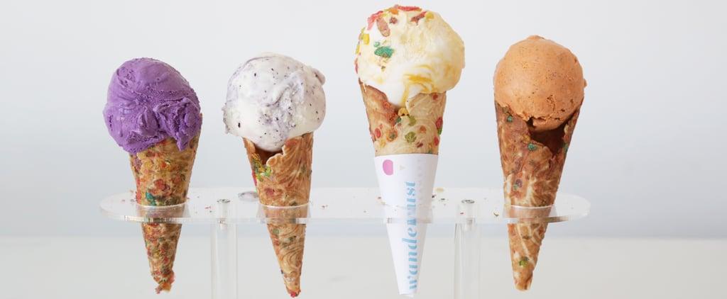 Fruity Pebbles Ice Cream Waffle Cone Recipe