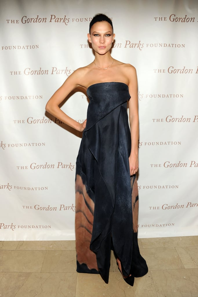 Karlie Kloss at the 2013 Gordon Parks Foundation Awards in NYC.