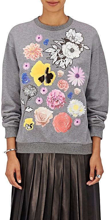 Christopher Kane Flower Graphic Sweatshirt